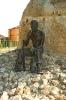 Zolfataro in pausa, Monumento ai zolfatari, Cianciana (AG)