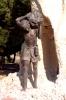 Caruso al lavoro, Monumento ai zolfatari, Cianciana (AG)