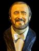 Ritratto di Luciano Pavarotti - 2011
